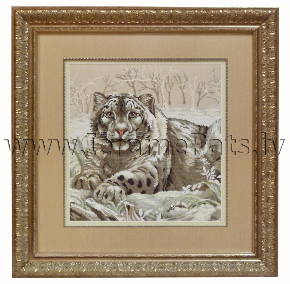 Tiger – embroidery