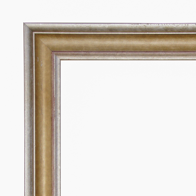 Ready-made wooden frame