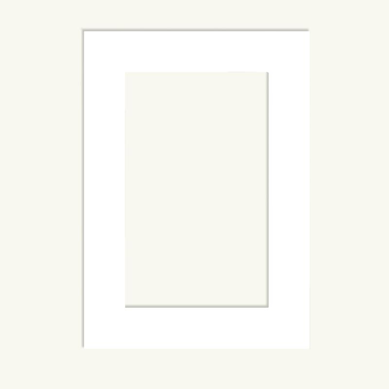 Белый паспарту