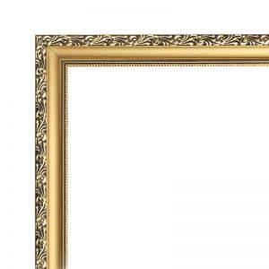Узкая золотая деревяннаярама