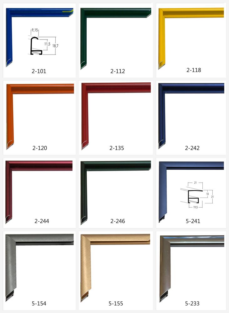 Metāla rāmju katalogs